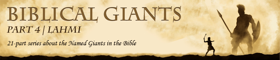 Ron Morehead_Biblical Giants_Lahmi_04