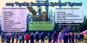 2019 Psychic Sasquatch Spiritual Retreat