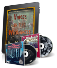 Bigfoot Recordings Vol. 1 & 2 & Voices in the Wilderness (Second Edition) eBook - Digital Download
